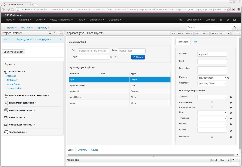 Drools documentation improved data object editor wajeb Choice Image