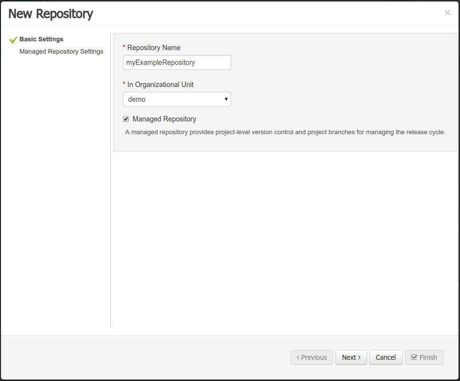 Version Control Repository Manager Has Not Been Named