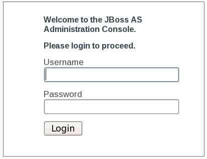 Jboss Web Console