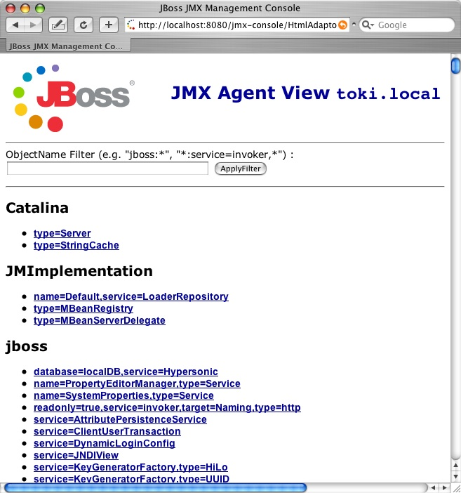 Getting Started With JBoss 4.0