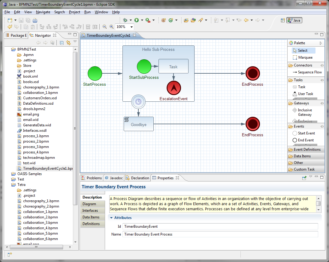 Chapter 20  Eclipse BPMN 2 0 Modeler