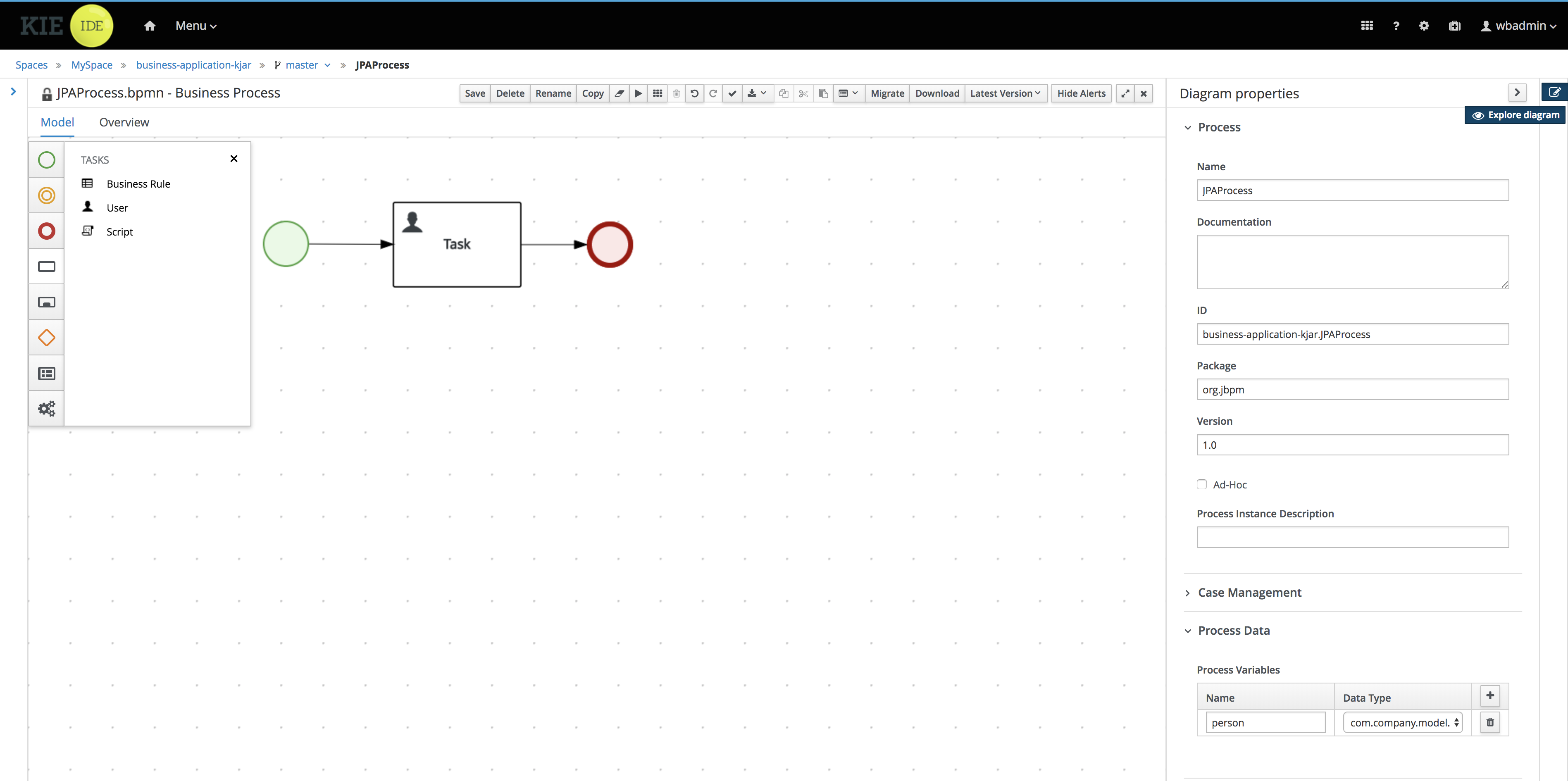 Jbpm Documentation Vw Derby 2 0 Engine Diagram Tutorial 4 Process With Jpa User Task