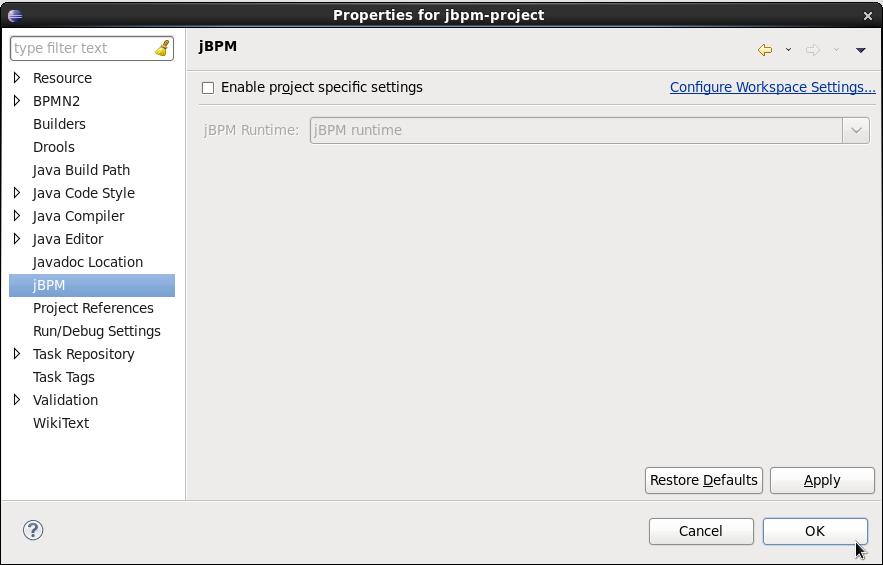 Chapter 18. Jbpm eclipse plugin.