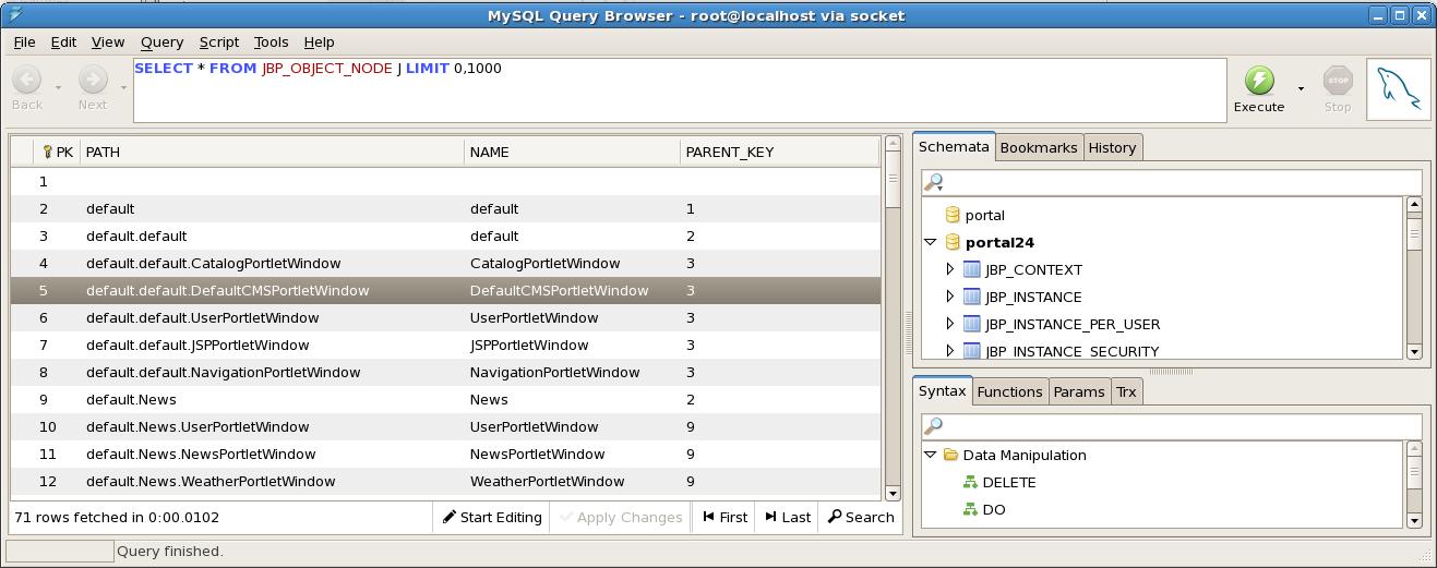 JBoss Portal 2.6.5