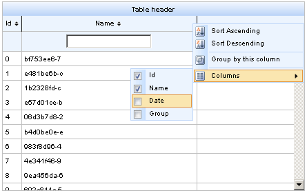 Chapter 9  Tables and grids