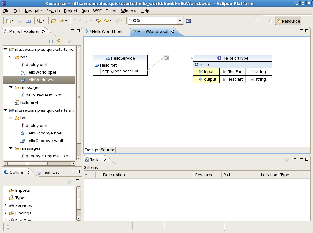A example: upgrading and redeploying soa order booking.