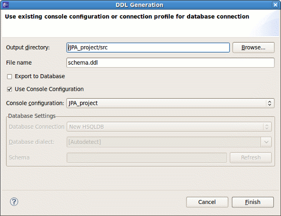 Chapter 4 eclipse plugins generate ddl wizard ccuart Choice Image