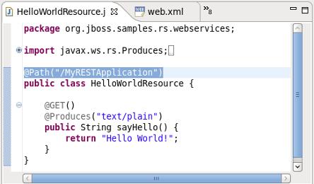 JBoss RESTful Web Services User Guide