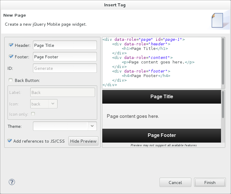 Chapter 6  Mobile Web Tools