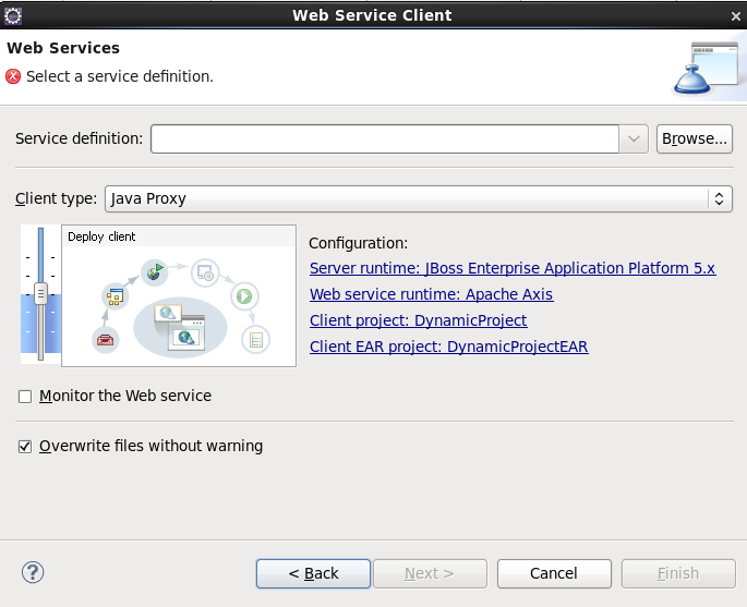 Chapter 4  Creating a Web Service Client from a WSDL