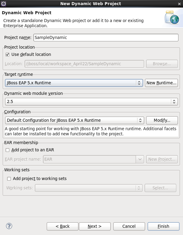 Chapter 3  Creating a Web Service using JBossWS runtime