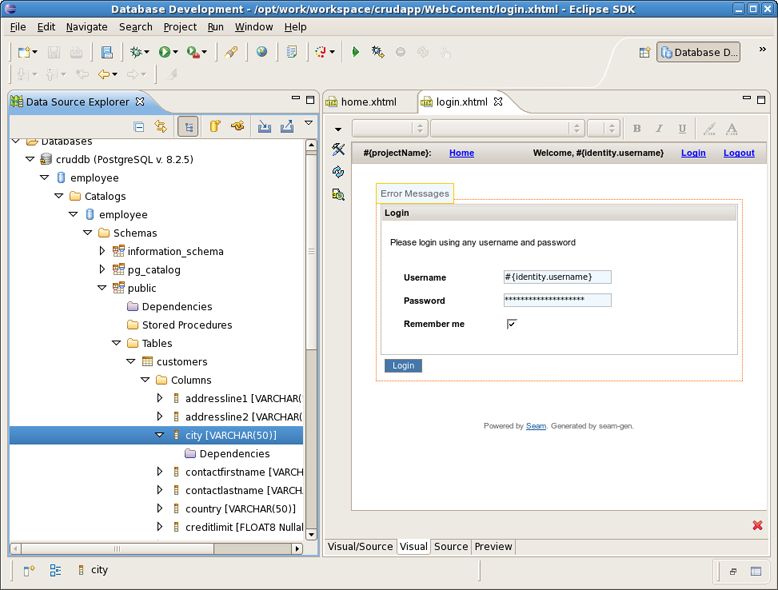 Chapter 8. Generate a CRUD Database Application