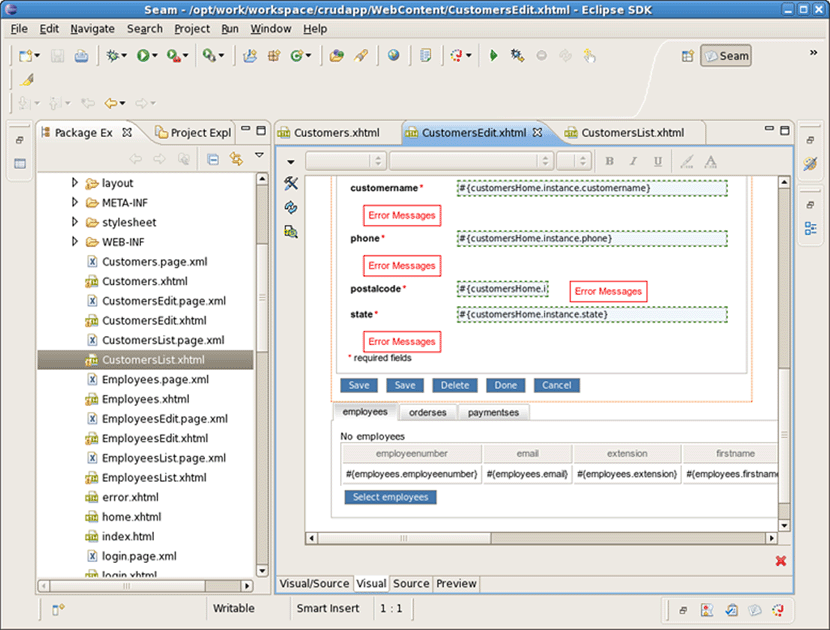 Chapter 10. Generate a CRUD Database Application