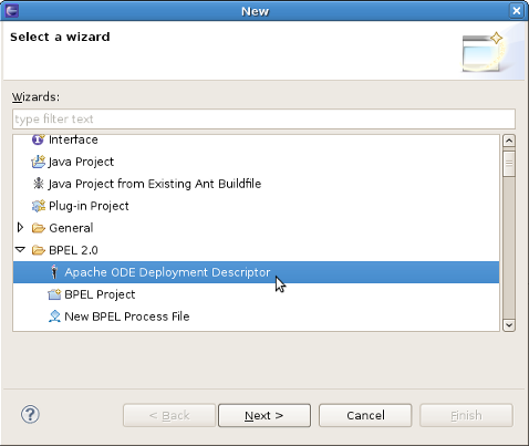 Chapter 4  Deploy a JBoss BPEL project to JBoss BPEL Runtime
