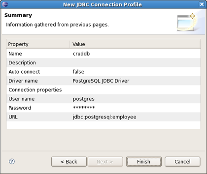 Chapter 8  Generate a CRUD Database Application