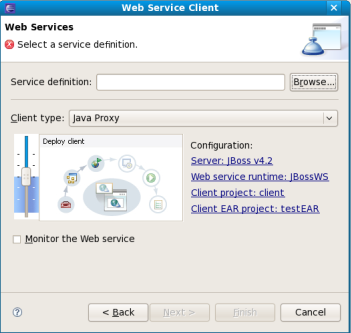 Chapter 3  Creating a Web Service Client from a WSDL