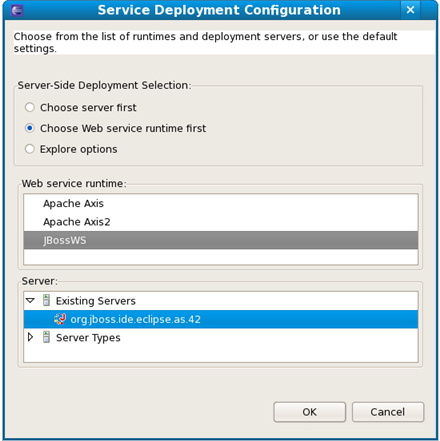 Chapter 2  Creating a Web Service using JBossWS runtime