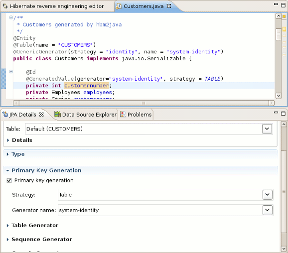 Chapter 4 eclipse plugins generatedvalue support in dali ccuart Image collections