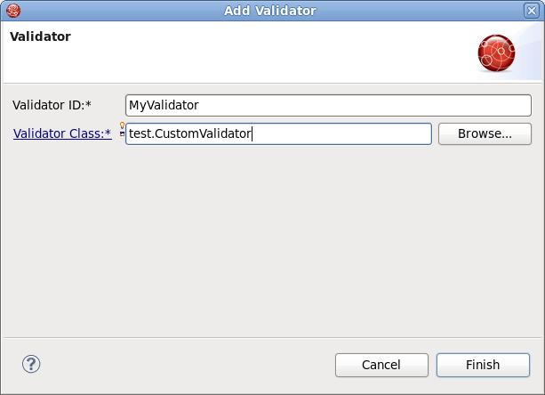 How to write custom validators in jsf