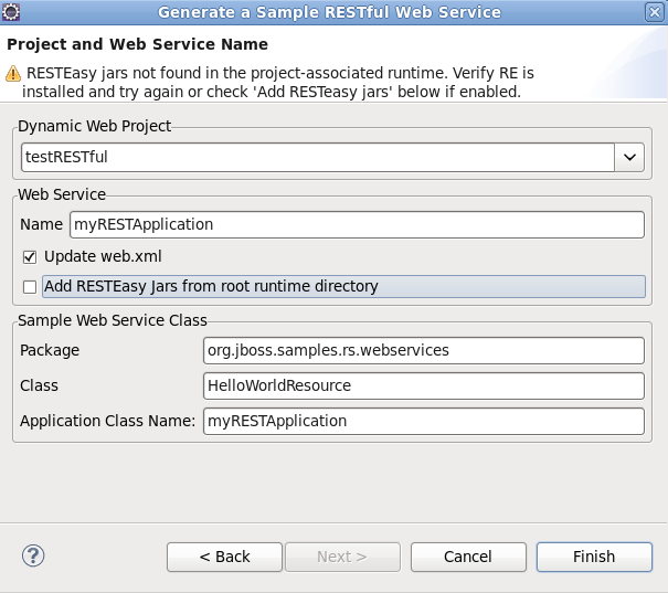 Chapter 2. Sample Web Service wizards