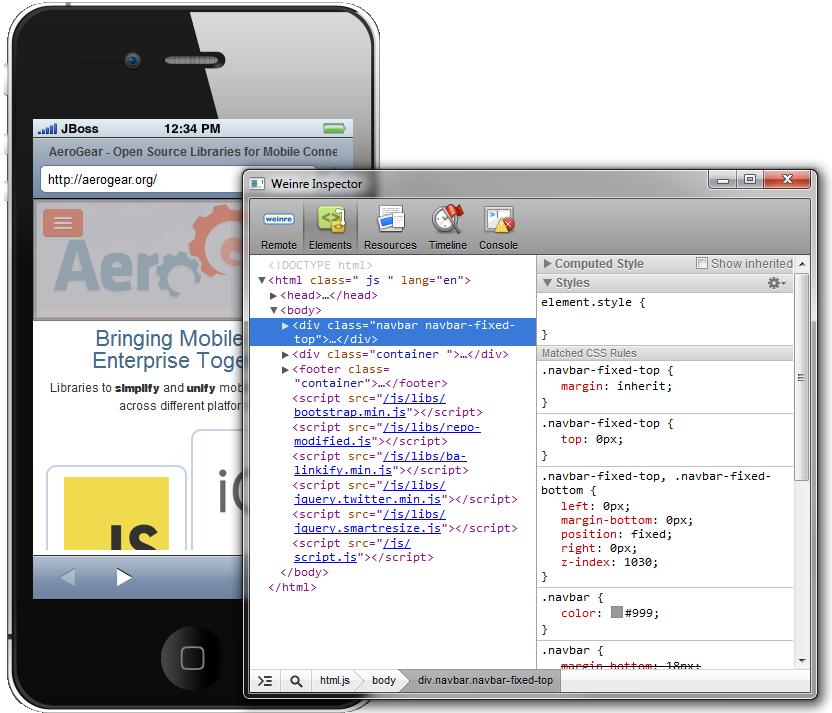 http://docs.jboss.org/tools/whatsnew/browsersim/images/4.1.0.Alpha2/weinre.png