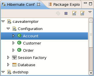 Hibernate tools 3 2 0 cr1 what 39 s new for Dynamic configuration tool